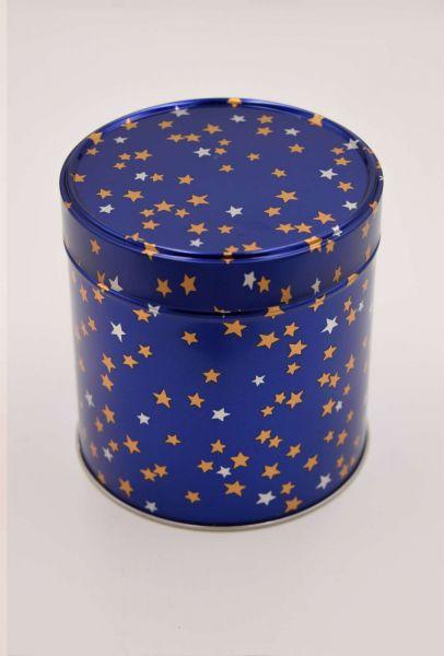 6 Elisenlebkuchen, Sterndose blau