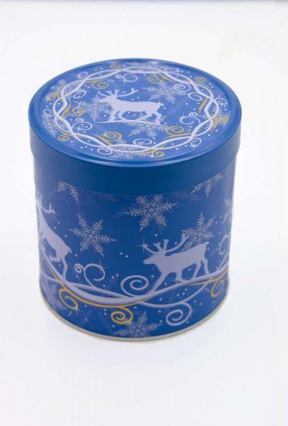 """6 Elisenlebkuchen, blaue Dose """"Elch"""""""