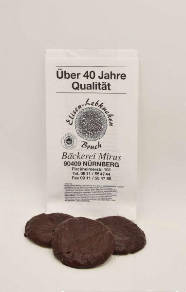 Lebkuchenbruch Elisenlebkuchen 7 Stück Schokoglasur